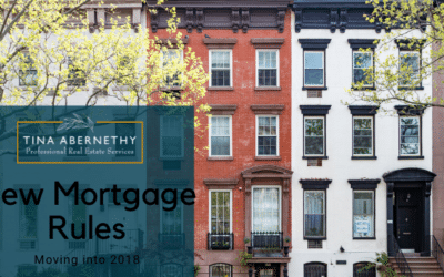 New Mortgage Rules Moving Into 2018